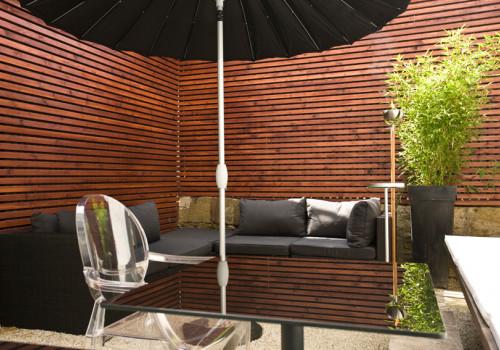 Unsere Garten Lounge